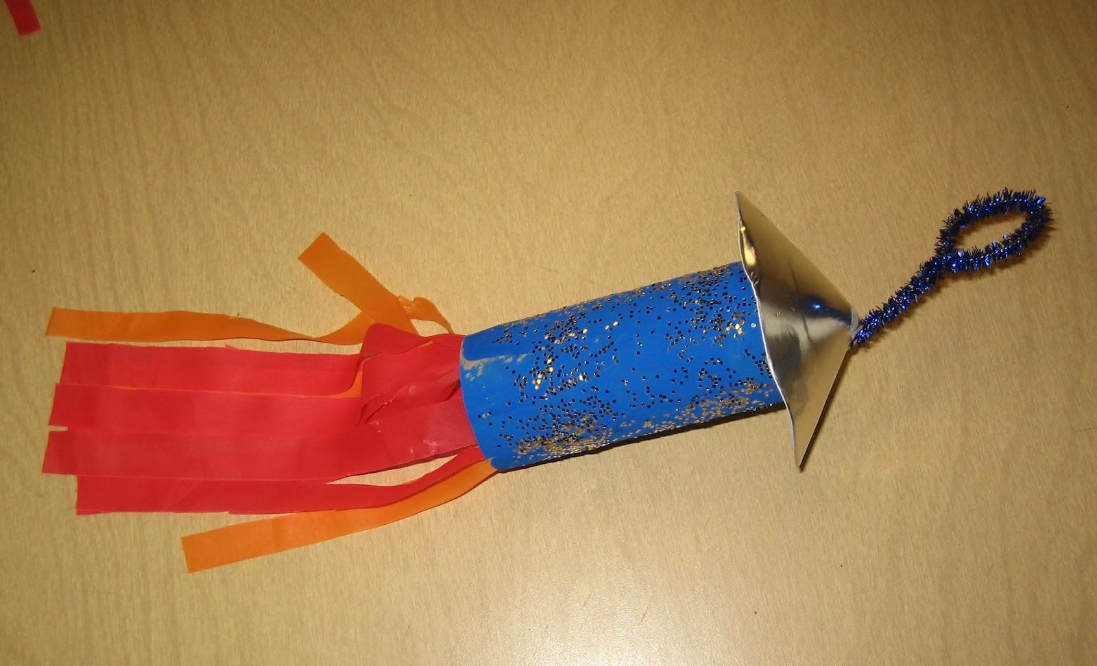 Teaching The Little People: Space Rockets In Preschool