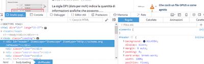 modifica html sito