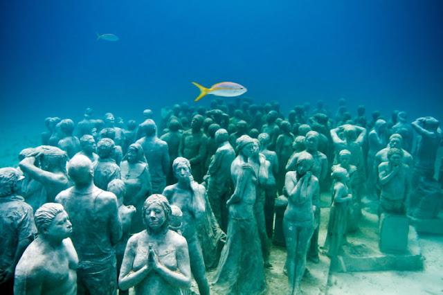 Cancun Underwater Museum, Meksiko