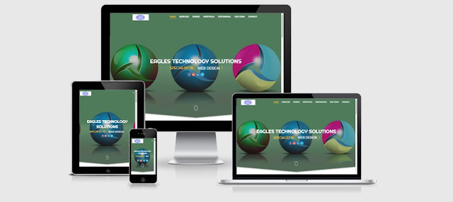 Eagles Technology Solutions Website Redesigned