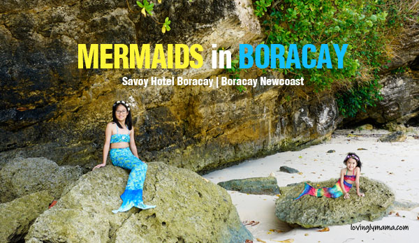 mermaids in boracay Newcoast - mermaid costumes for kids - mermaid swimming lessons -sisters summer photo shoot - Bacolod mommy blogger - family travel - Savoy Hotel Boracay - Boracay Newcoast - Boracay hotels - Boracay White Beach - mermaid tales - mermaid swimsuits - Barbie mermaid tales