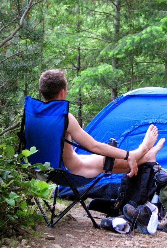 Boyfriends camping trip