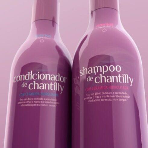 Shampoo e Condicionador de Chantilly Azenka