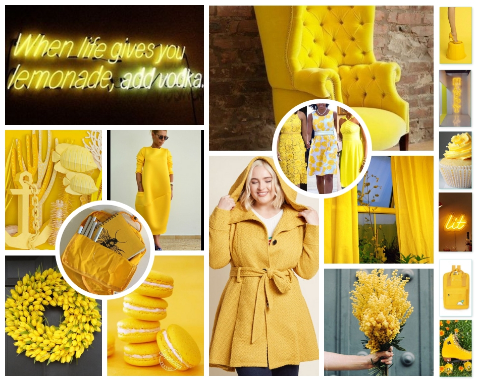 The Low Country Socialite, Mood Board, Friendship Yellow, Plus Size Blogger, Savannah Georgia, Hinesville Georgia