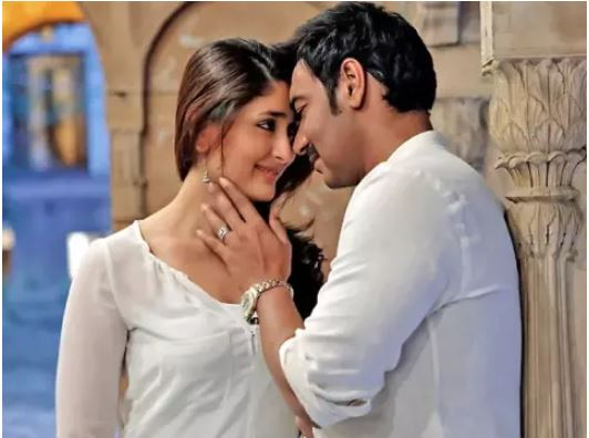Kareena refused to lip lock with Ajay Devgan