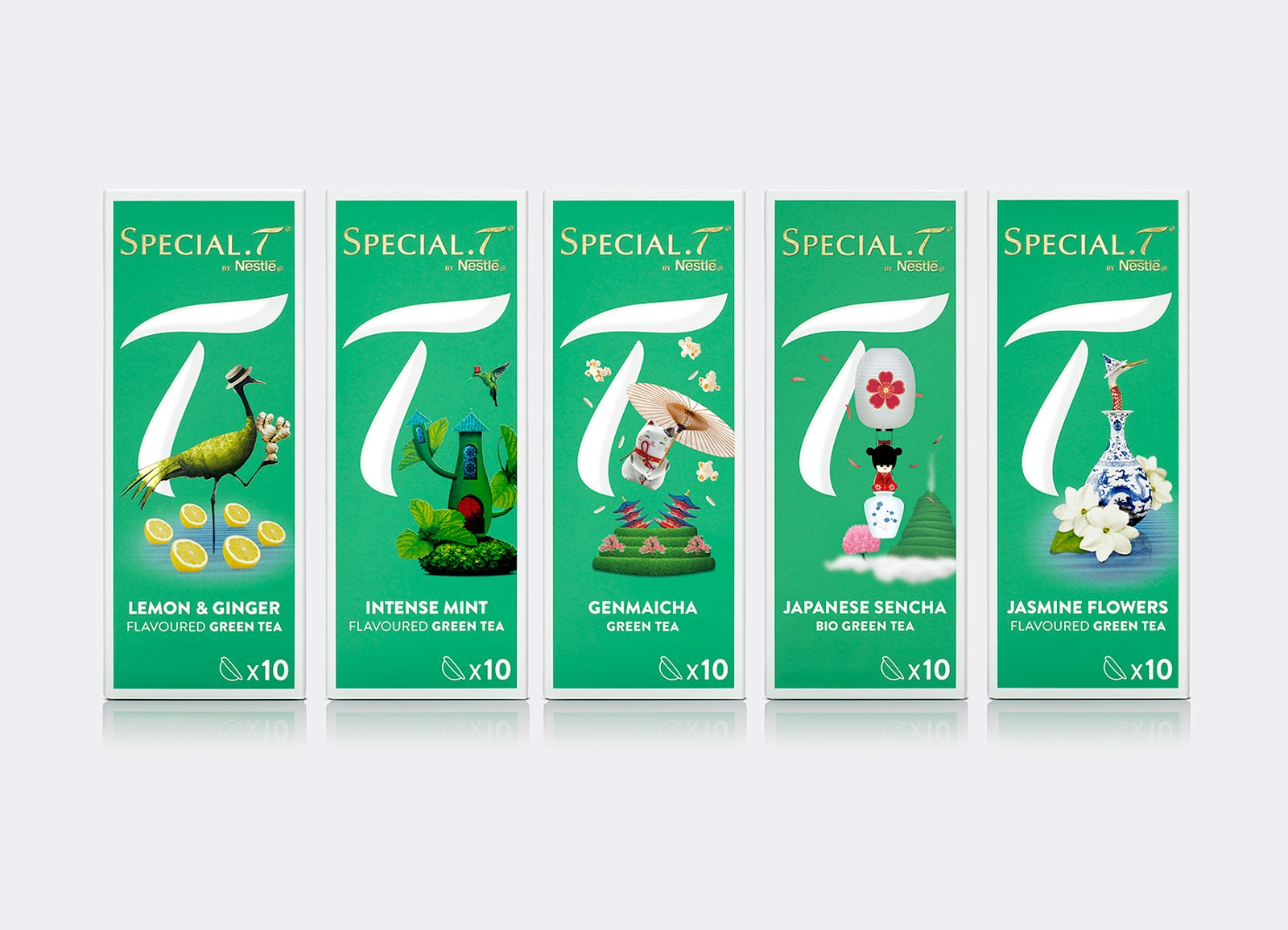 Special T On Packaging Of The World Creative Package Design Gallery