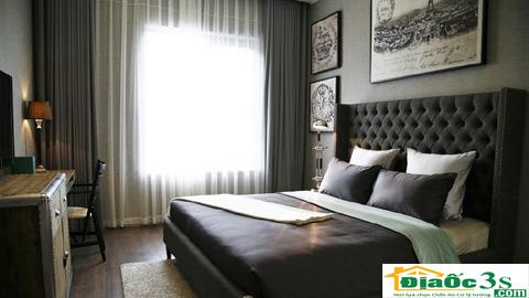 Phòng ngủ căn hộ mẫu Sun Grand City Thuy Khue Residence