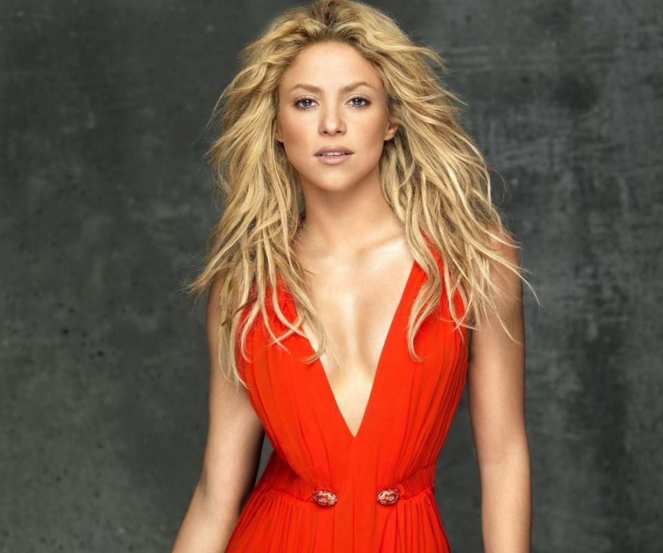 Shakira Shakira Red Dress-4516