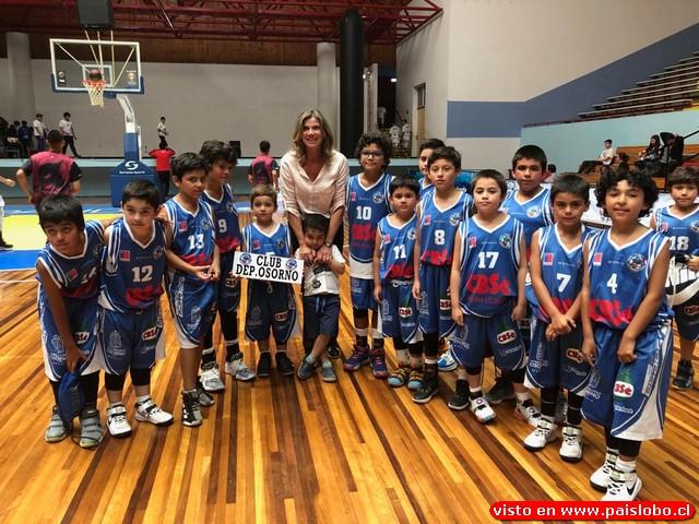 Copa Osorno 2020 de básquetbol en la villa Olímpica