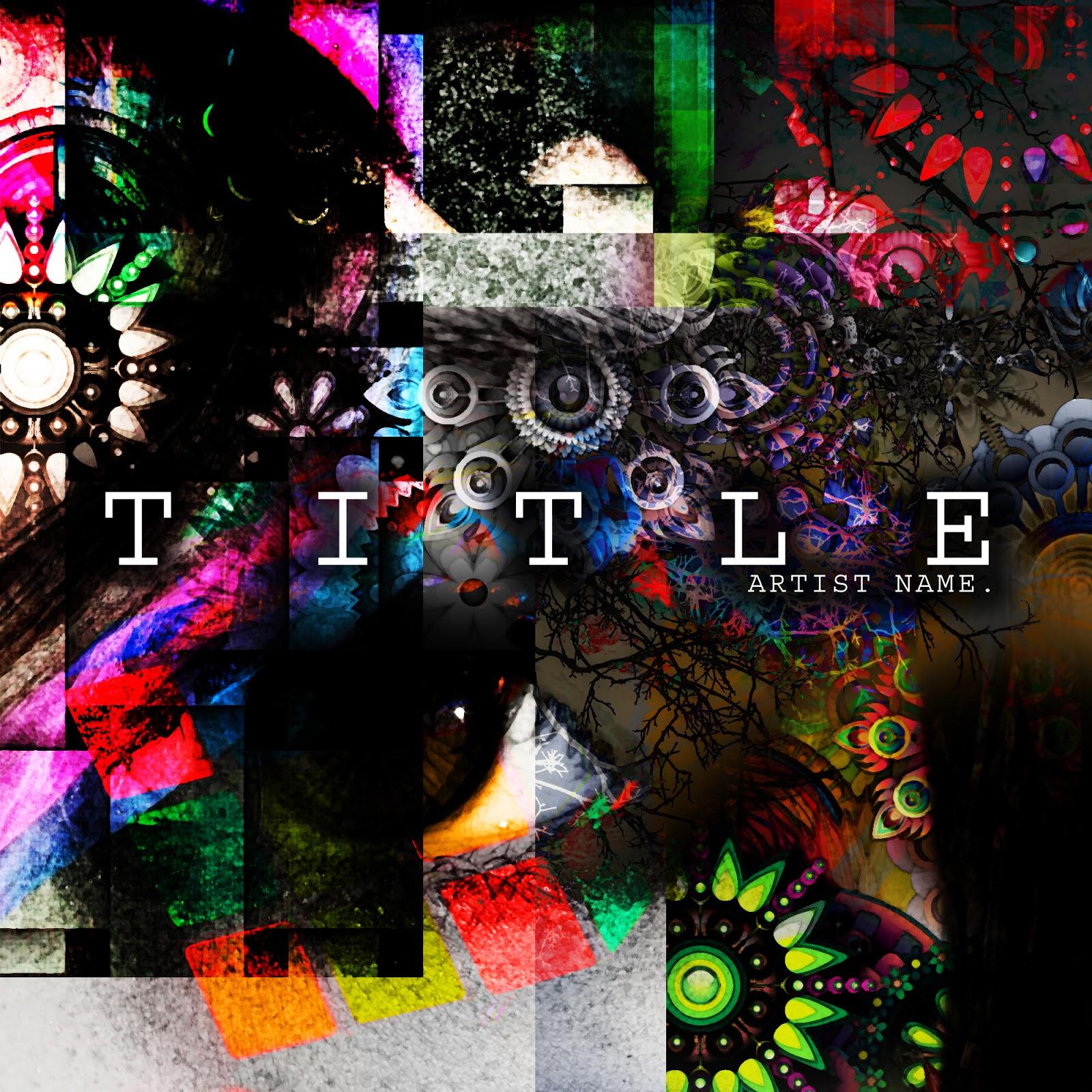 Music single/album/mixtape/CD cover artwork graphic design