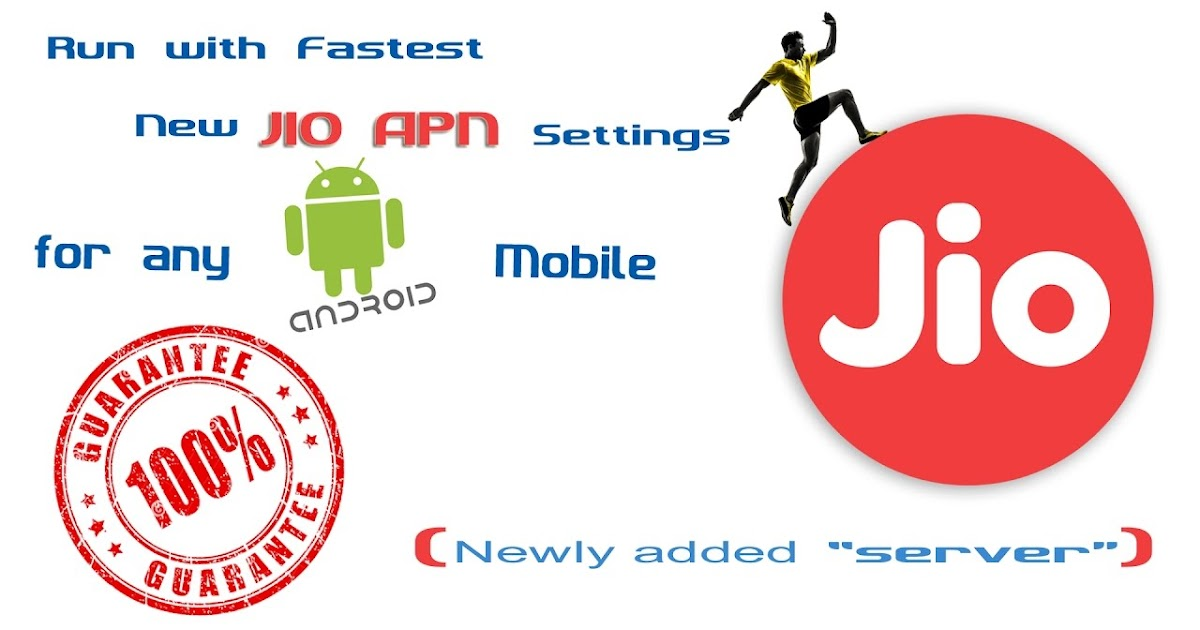 NEW JIO APN settings for JIO users increase Jio speed up to