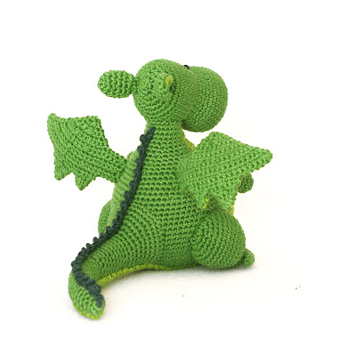 dragon amigurumi pattern