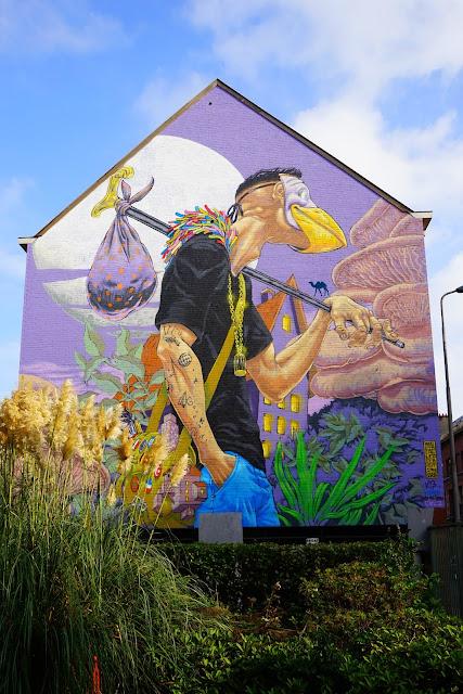 Le Chameau Bleu - Blog Voyage Gand Belgique - Gand Tourisme - Le Street Art à Gand - Chose a faire à Gand Belgique