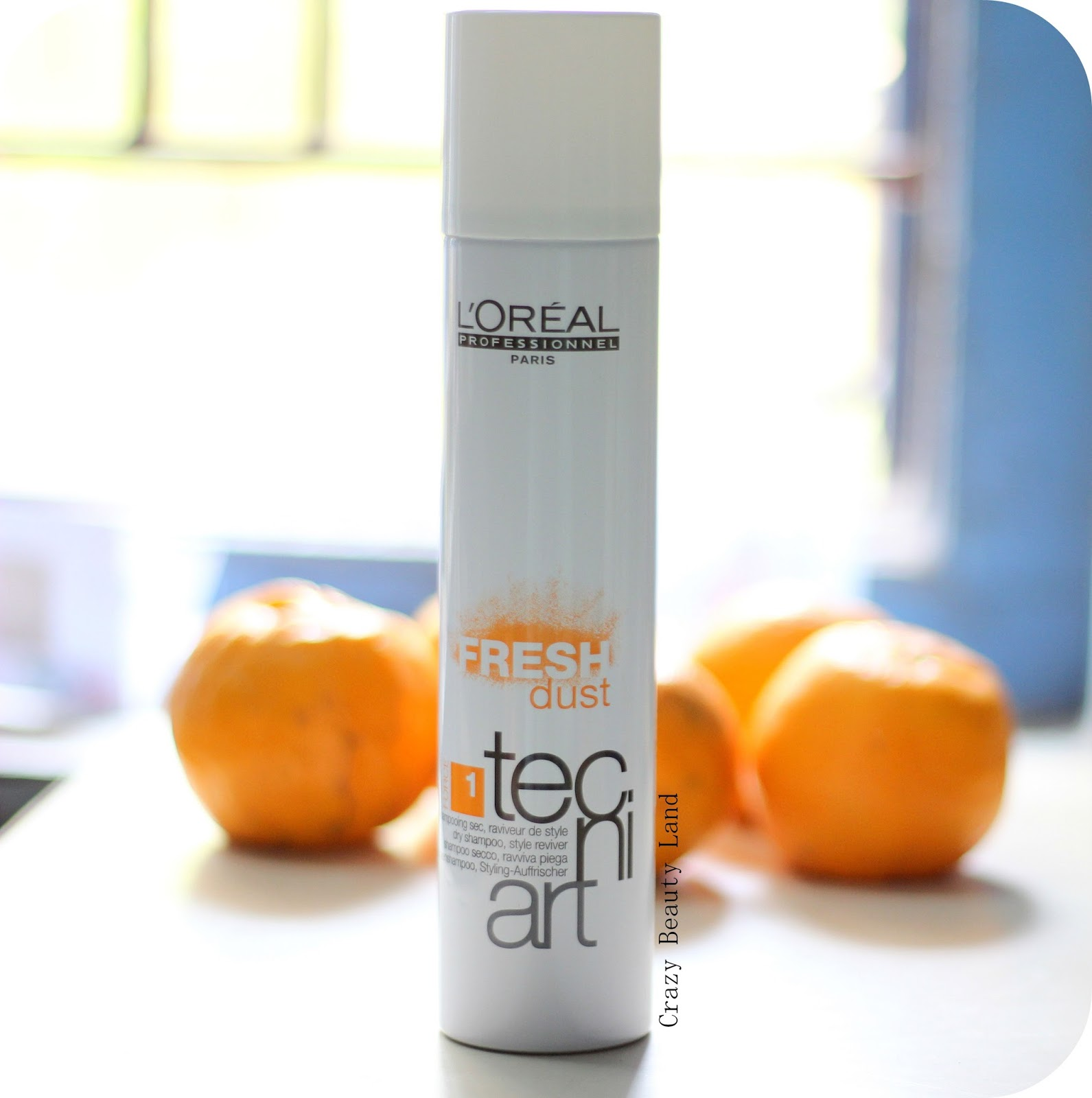 L'Oreal Techni Art Fresh Dust Dry Shampoo Review