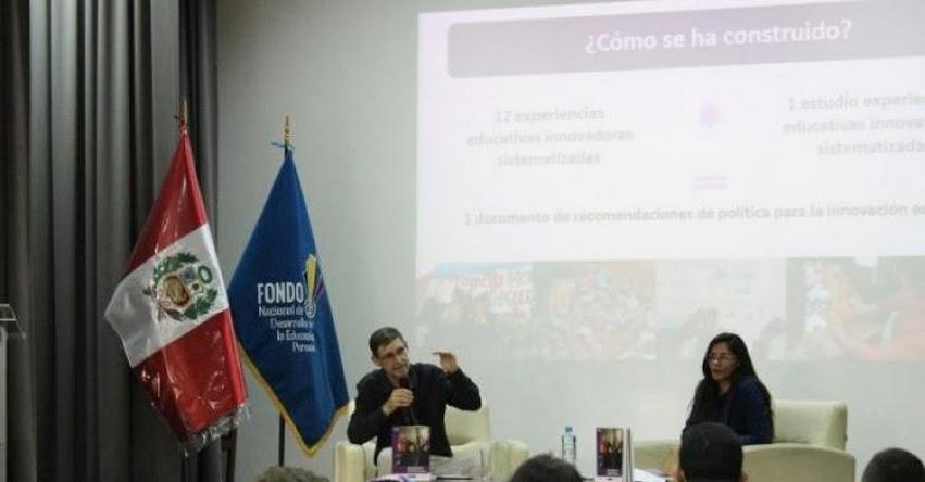 FONDEP: Hay necesidad de identificar innovaciones educativas para que escalen a política pública [VIDEO] www.fondep.gob.pe