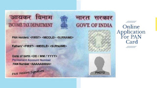 Online Application For PAN Card