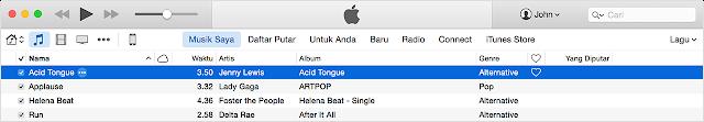Cara Memasukan Lagu dari Komputer ke iPhone, iPad Dengan iTunes