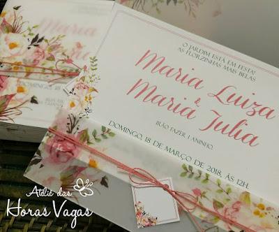 convite artesanal personalizado casamento 15 anos infantil floral aquarelado rosa rosê delicado sofisticado envelope vegetal luxo wedding boho chic