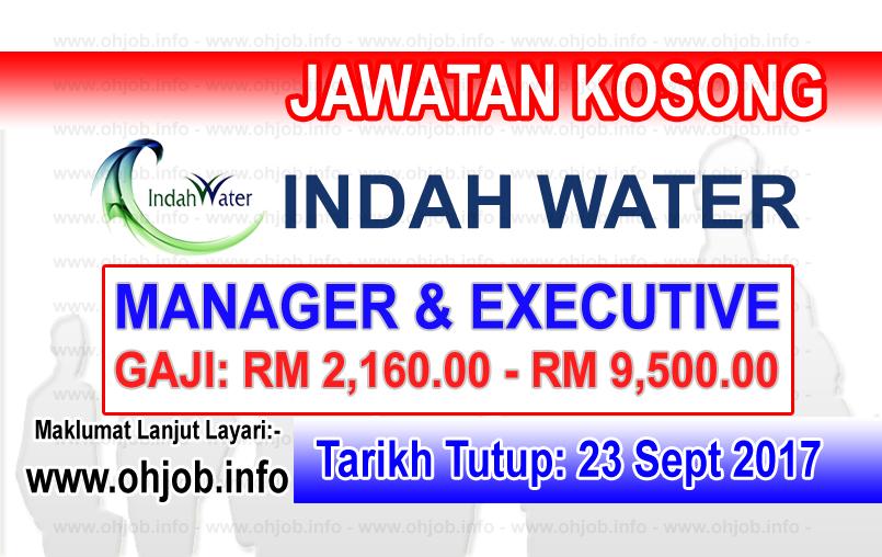 Jawatan Kerja Kosong IWK - Indah Water Konsortium logo www.ohjob.info september 2017
