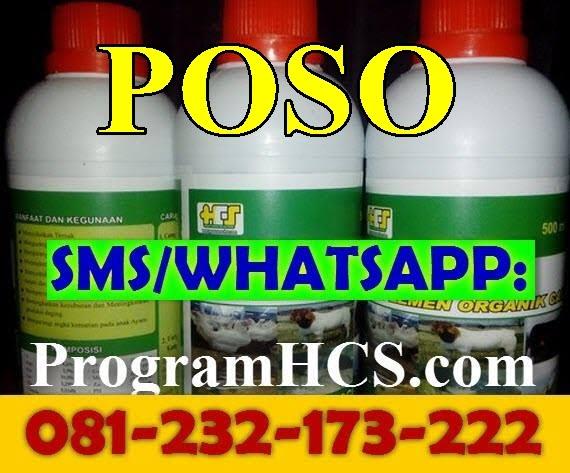 Jual SOC HCS Poso