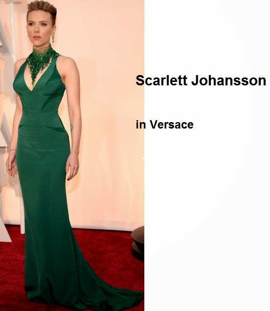 Scarlett%2BJohansson%2Bin%2BVersace - Look Óscares 2015