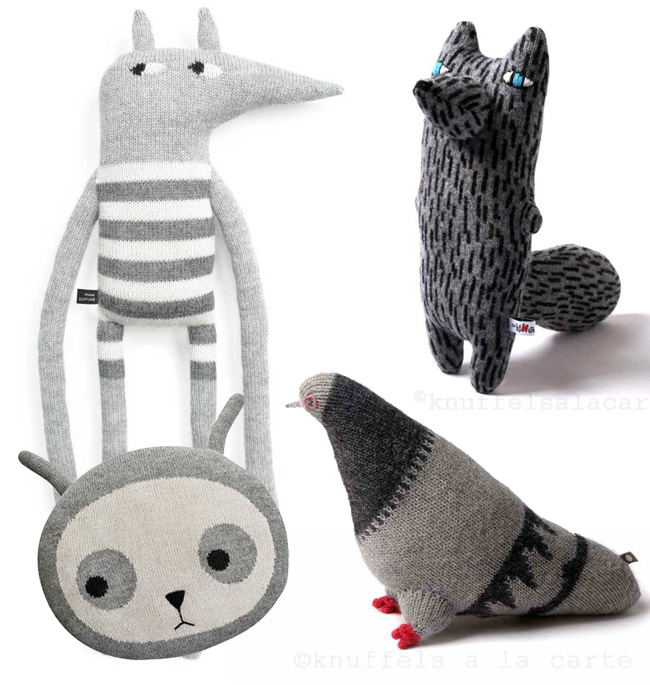 alpaca knitted soft toys