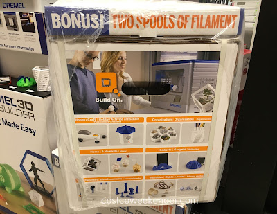 Costco 8675309 - The Dremel Idea Builder 3D Printer ensures a perfect fit from what you make