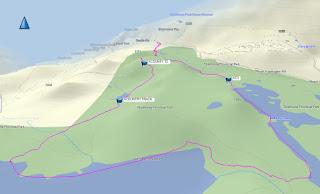 Helen Mackenzie to Battleship Lake Loop GPS and Map