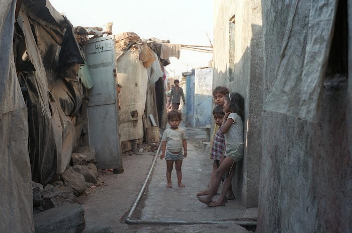 Mumbai, Dhobi, Malabar Hill, © L. Gigout, 1991