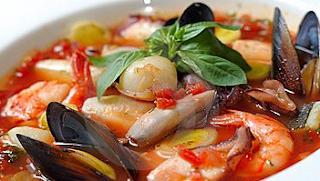 gambar Resep masakan Seafood Soup Tomat