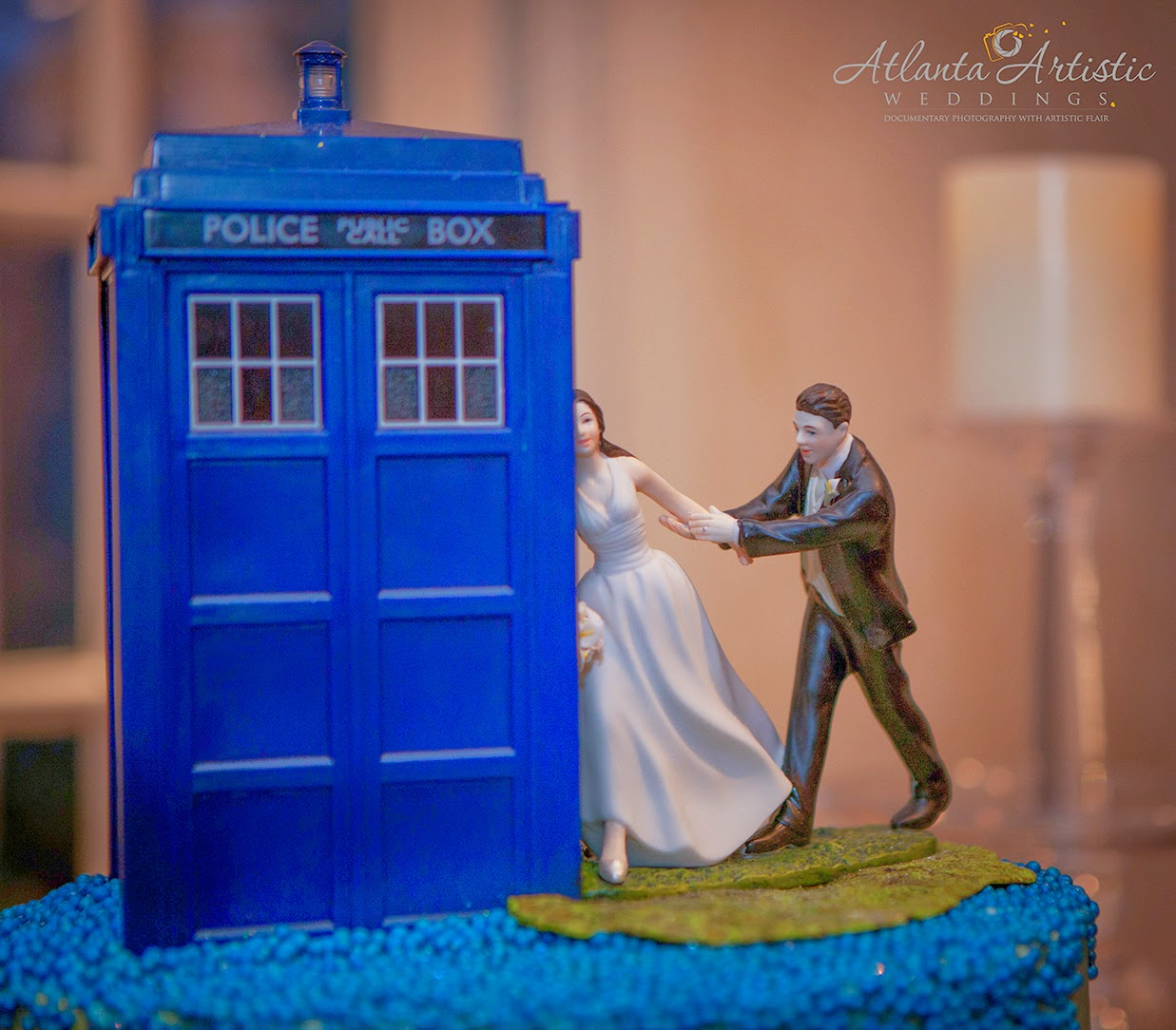 Dr Who And The Tradis Wedding Cake Topper By Atlantaartisticweddings