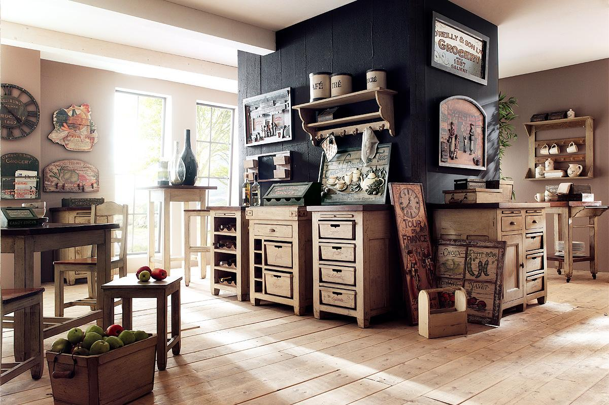 free ilot cuisine kit with meubles de cuisine vintage. Black Bedroom Furniture Sets. Home Design Ideas