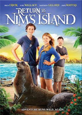 Poster Of Hollywood Film Return to Nim's Island (2013) In 300MB Compressed Size PC Movie Free Download At worldfree4u.com