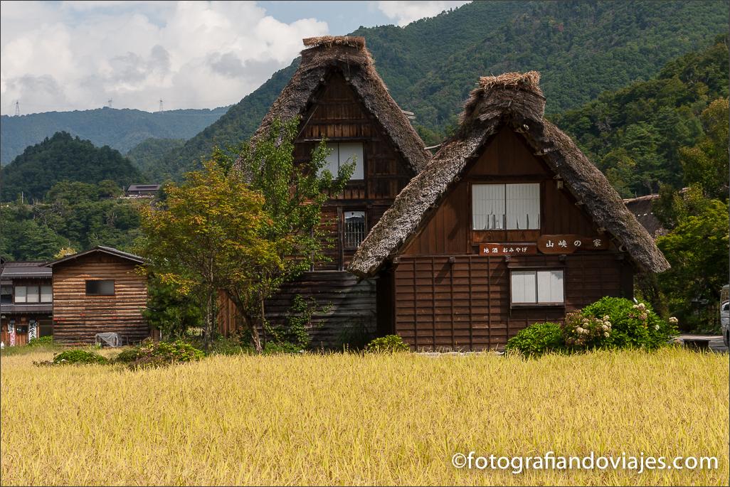 Shirakawa-go Ogimachi en Japón