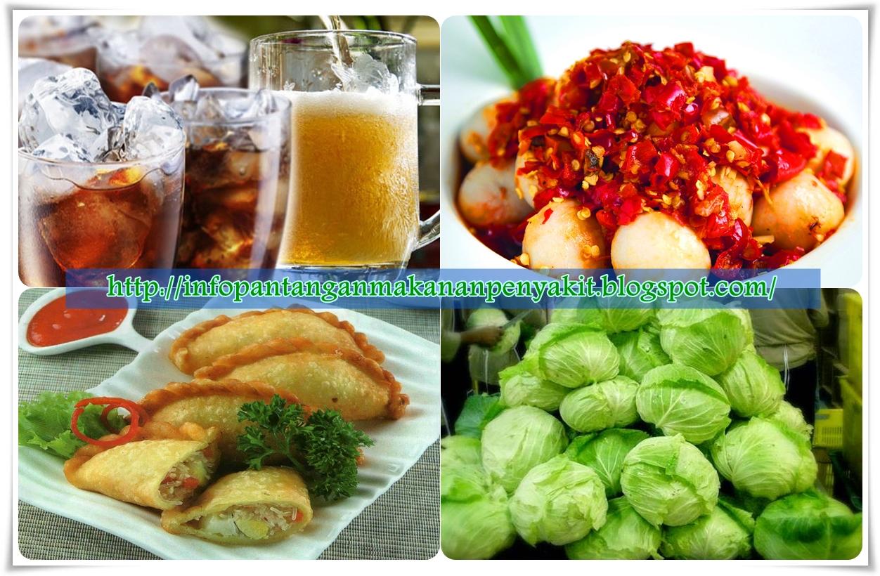 Jenis Makanan Pantangan Untuk Sakit Maag Akut
