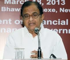 Union Finance Minister Shri P.Chidambaram