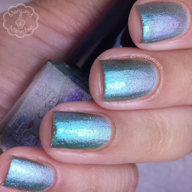 Nail Hoot Lacquer - My Green Plum