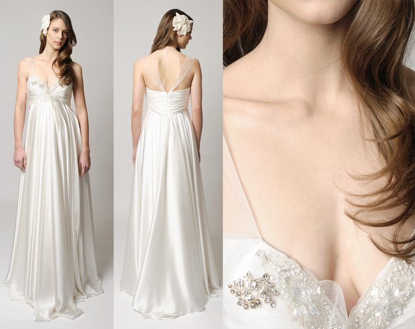 f20a6e3de09f2 Luxury wedding dress trends: Maternity wedding dresses 2012