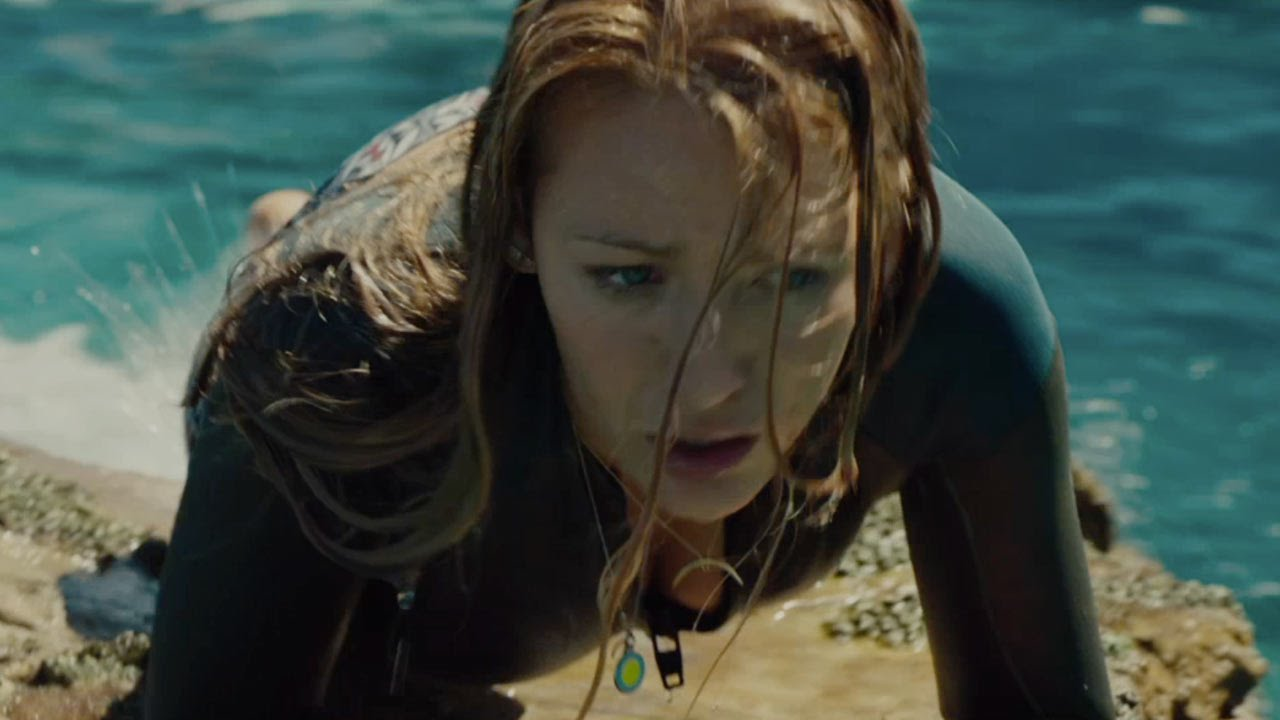 the shallows In the taut thriller the shallows, nancy (blake lively) is surfing alone on a secluded beach when she is attacked by a great white shark and stranded just a .