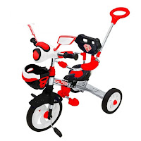 royal ry3298cps ranger rubber rotor bmx baby tricycle