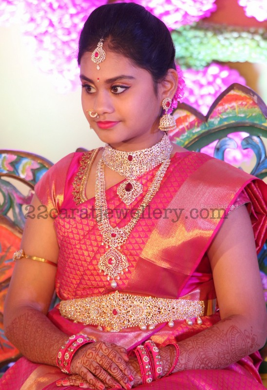 Srija Half Saree Ceremony