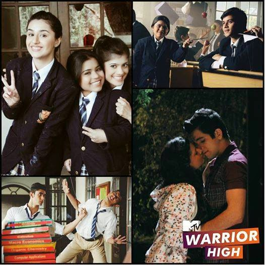 MTV Warrior High Tv Serial Starcast | Story | Videos | Telecast Timing