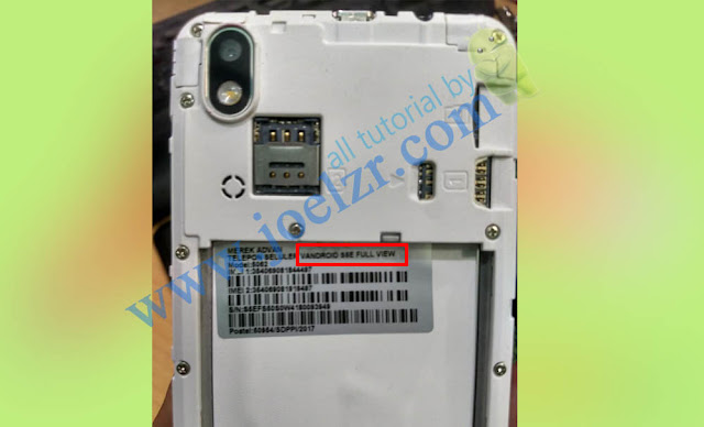 cara flash advan s5e full view