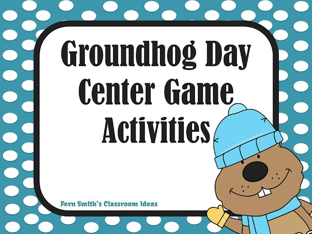 Fern Smith's Classroom Ideas Groundhog Day Activities!