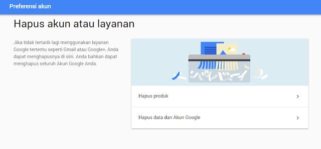 Cara Mudah Menghapus Akun Google atau Gmail Secara Permanen Tutorial Gampang Menghapus Akun Google atau Gmail Permanen