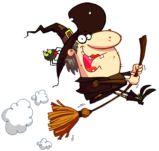 Funny halloween witch image cartoon quotes memes animated gif