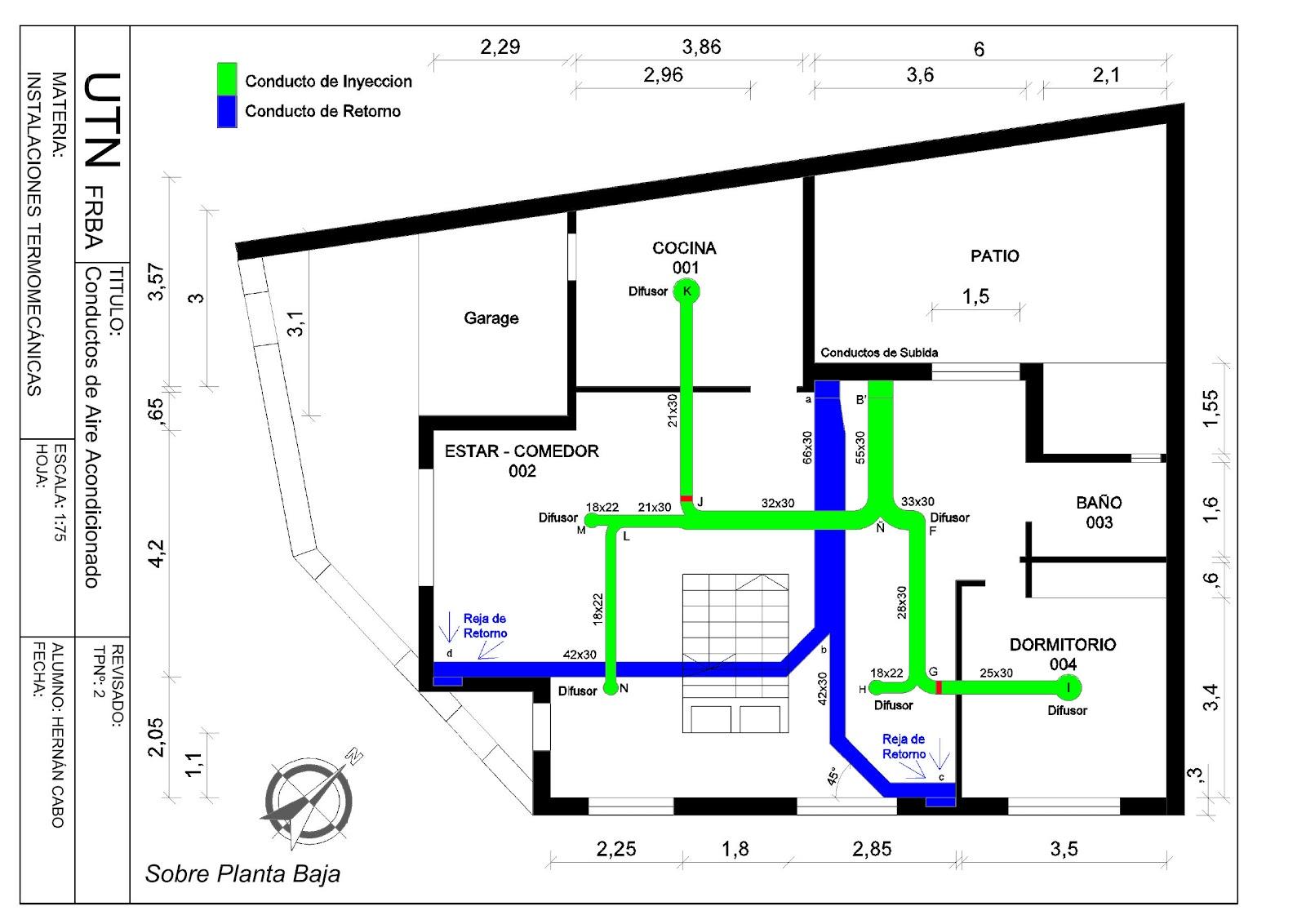 Dormitorio muebles modernos instalacion aire for Aire acondicionado conductos