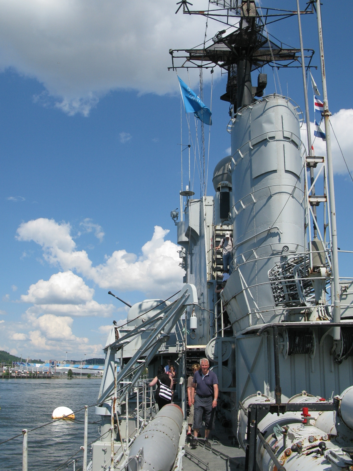 Nostalgorama: Jagaren HMS Småland J19