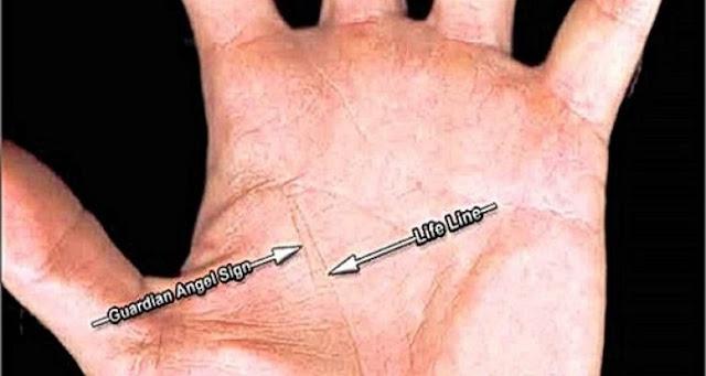 Έχετε Τη Γραμμή Του Φύλακα Άγγελου Στο Χέρι Σας; Δείτε Τι Σημαίνει…