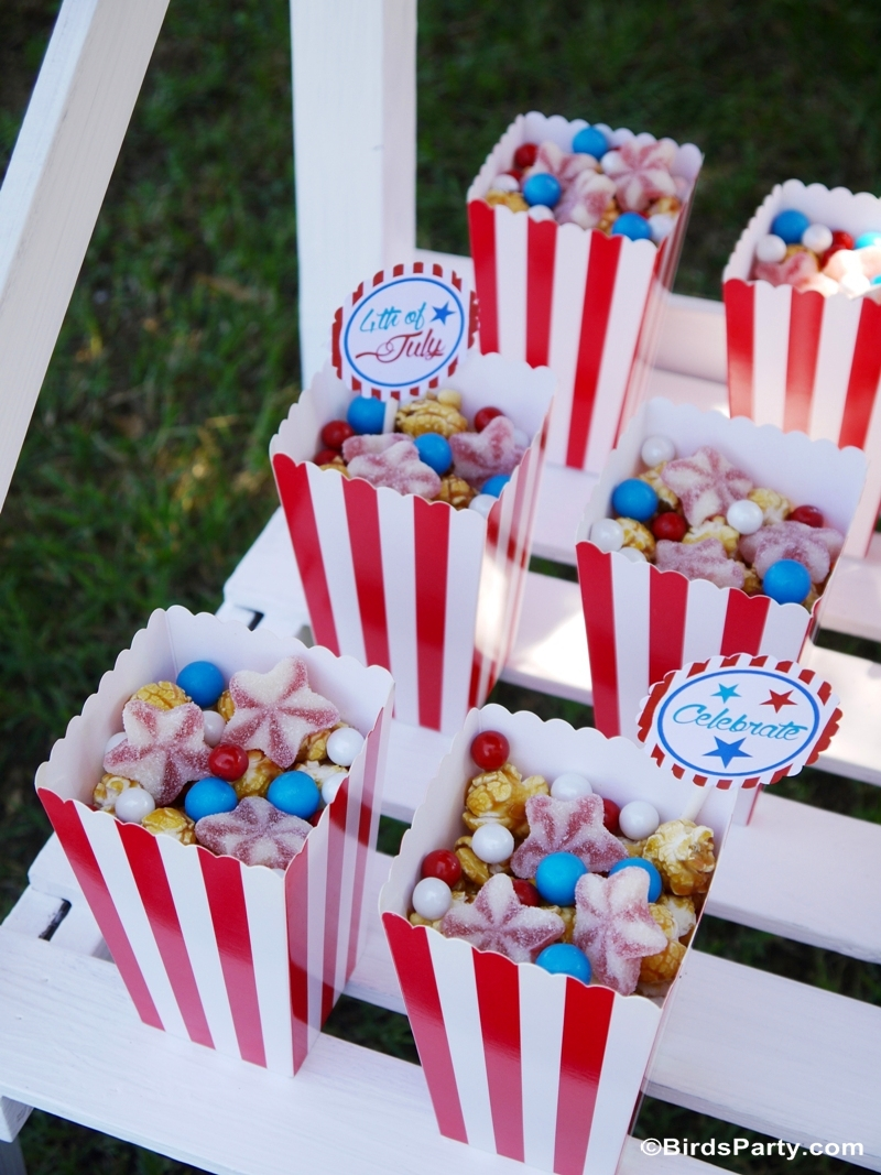 4th of July Garden Picnic Party Ideas - Party Ideas ...
